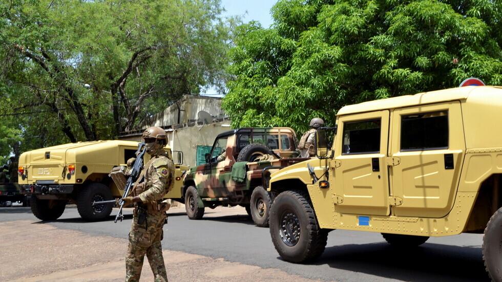 عناصر في جيش مالي.