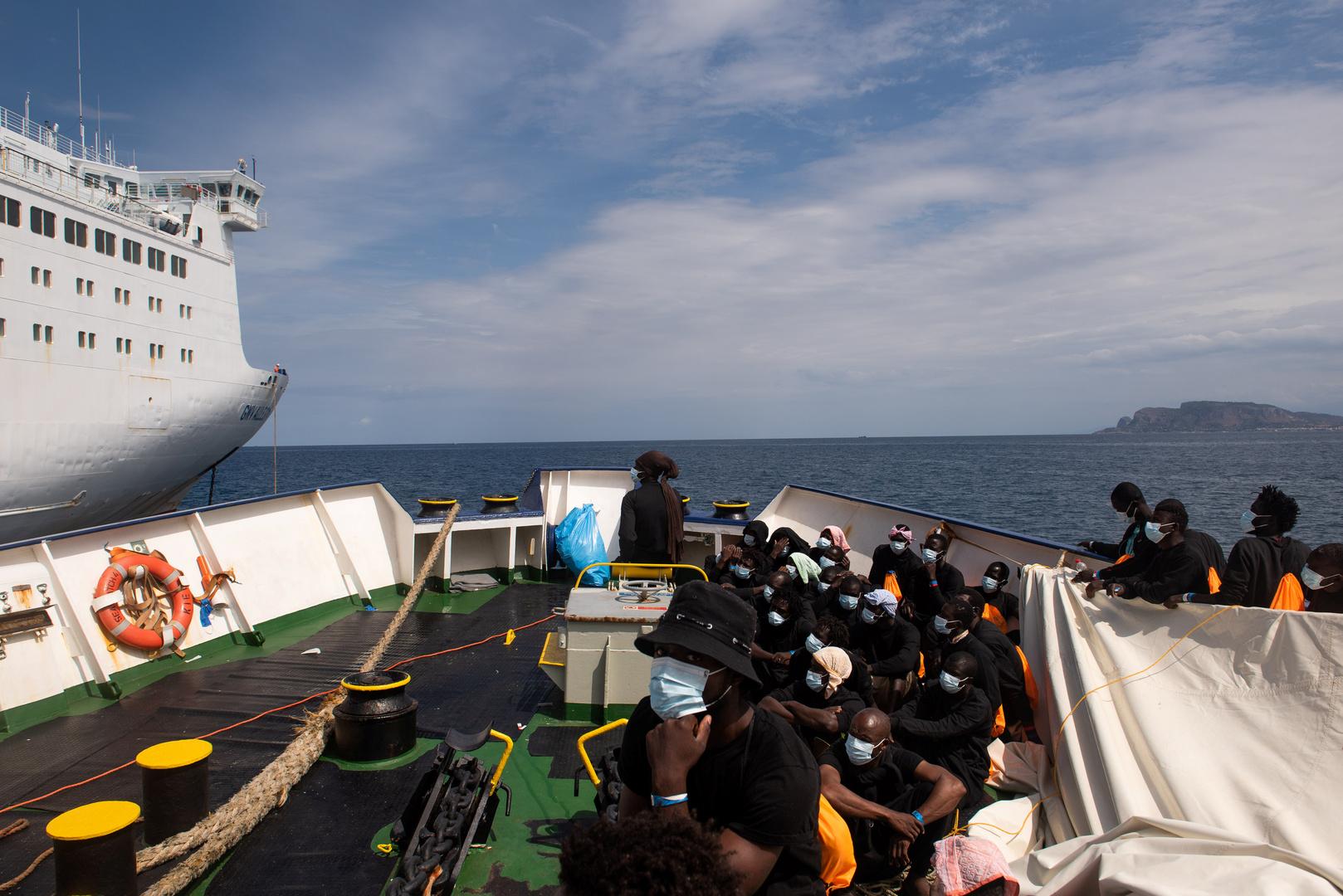 إيطاليا: استمرار تدفقات الهجرة نحو جزيرة لامبيدوزا