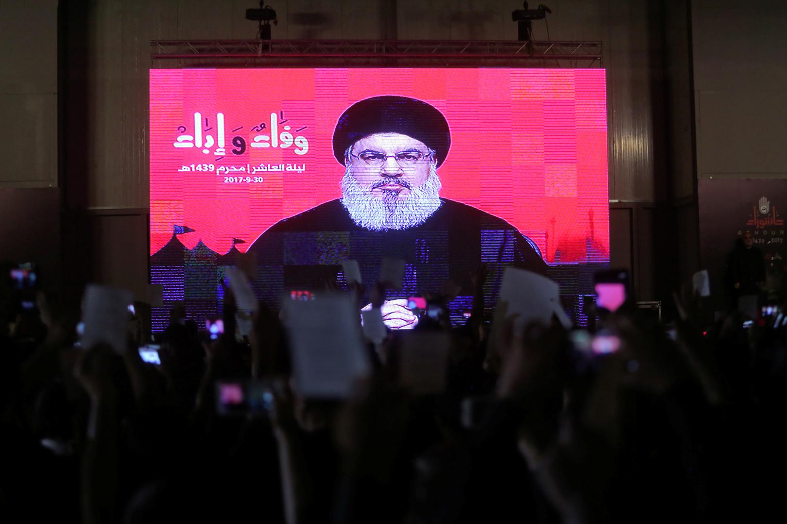 نصر الله: تجاوزنا المرحلة التي كانت تهدد بحرب طائفية ومذهبية على امتداد العالم الإسلامي