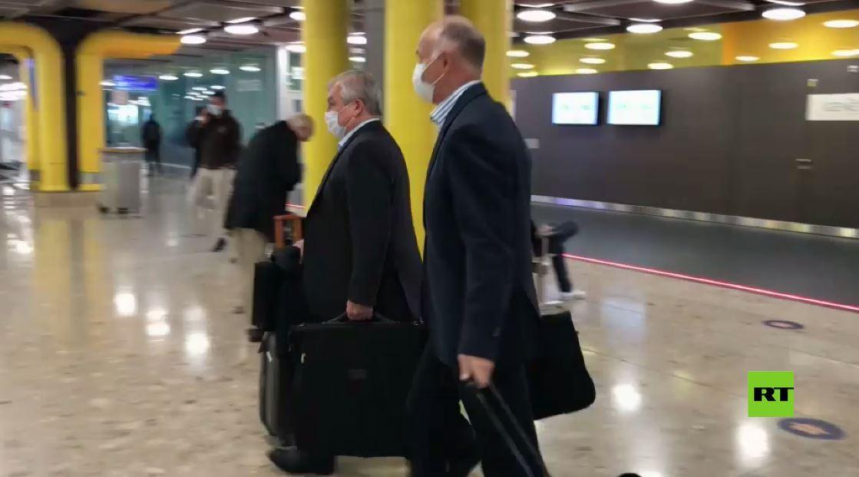 المبعوث الروسي الخاص إلى سوريا ألكسندر لافرنتييف يصل إلى جنيف