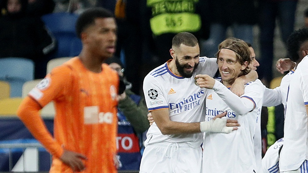 ريال مدريد يكتسح شاختار دونيتسك بخماسية نظيفة في دوري الأبطال (فيديو)