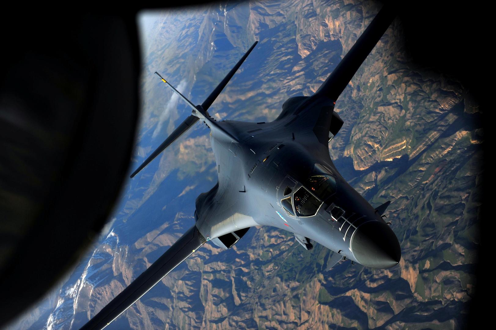 قاذفة استراتيجية أمريكية من نوع B-1B Lancer (صورة من الأرشيف)