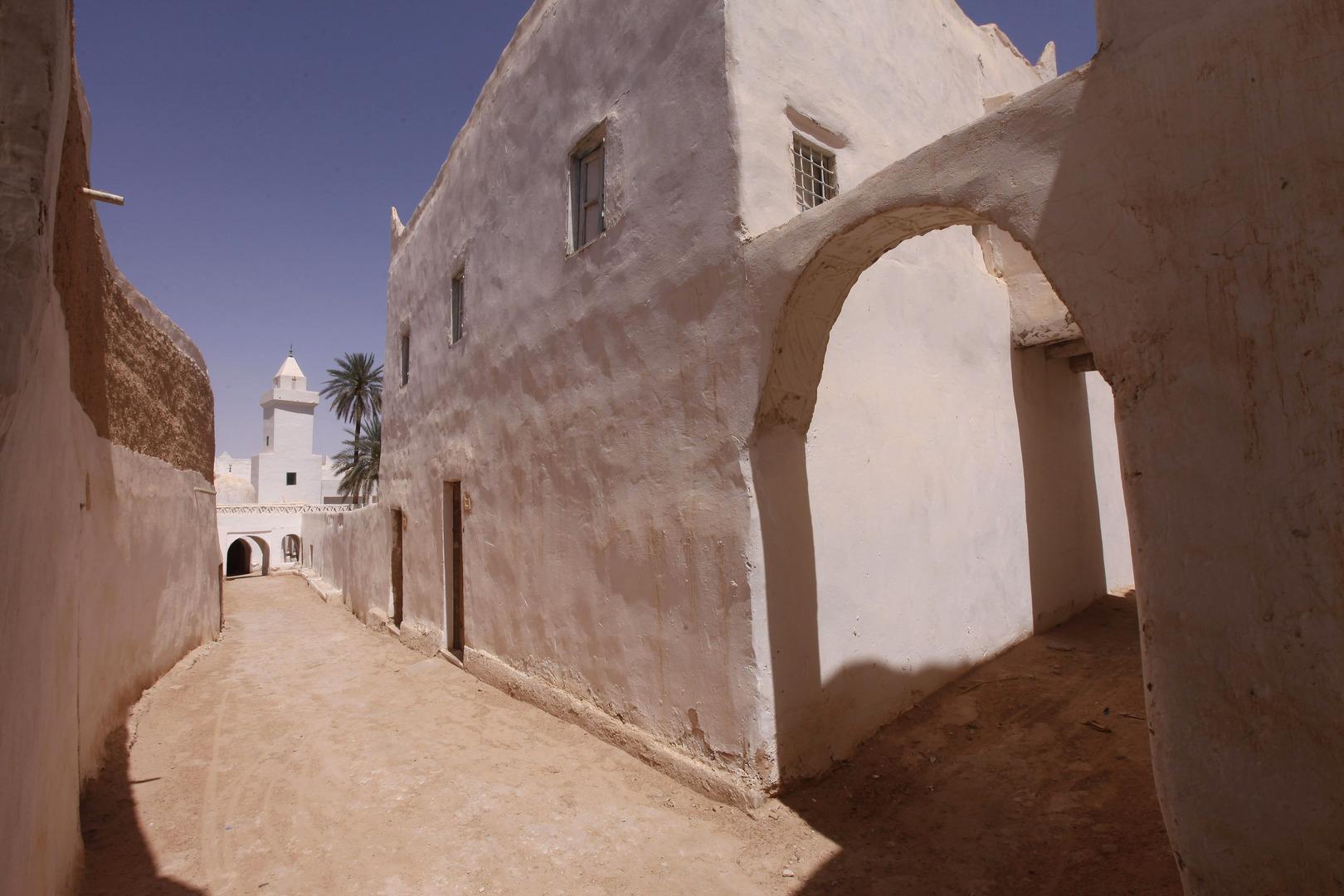 مدينة غدامس الليبية (صورة من الأرشيف)