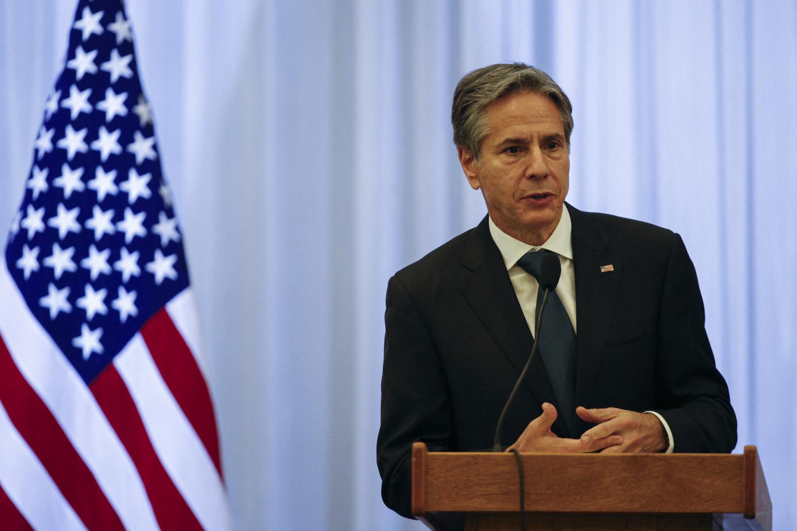 وزير الخارجية الأمريكي، أنتوني بلينكن.