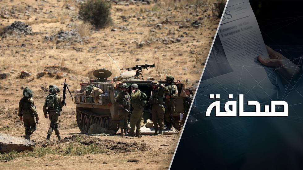 إسرائيل حشدت قوات إضافية على الحدود مع سوريا