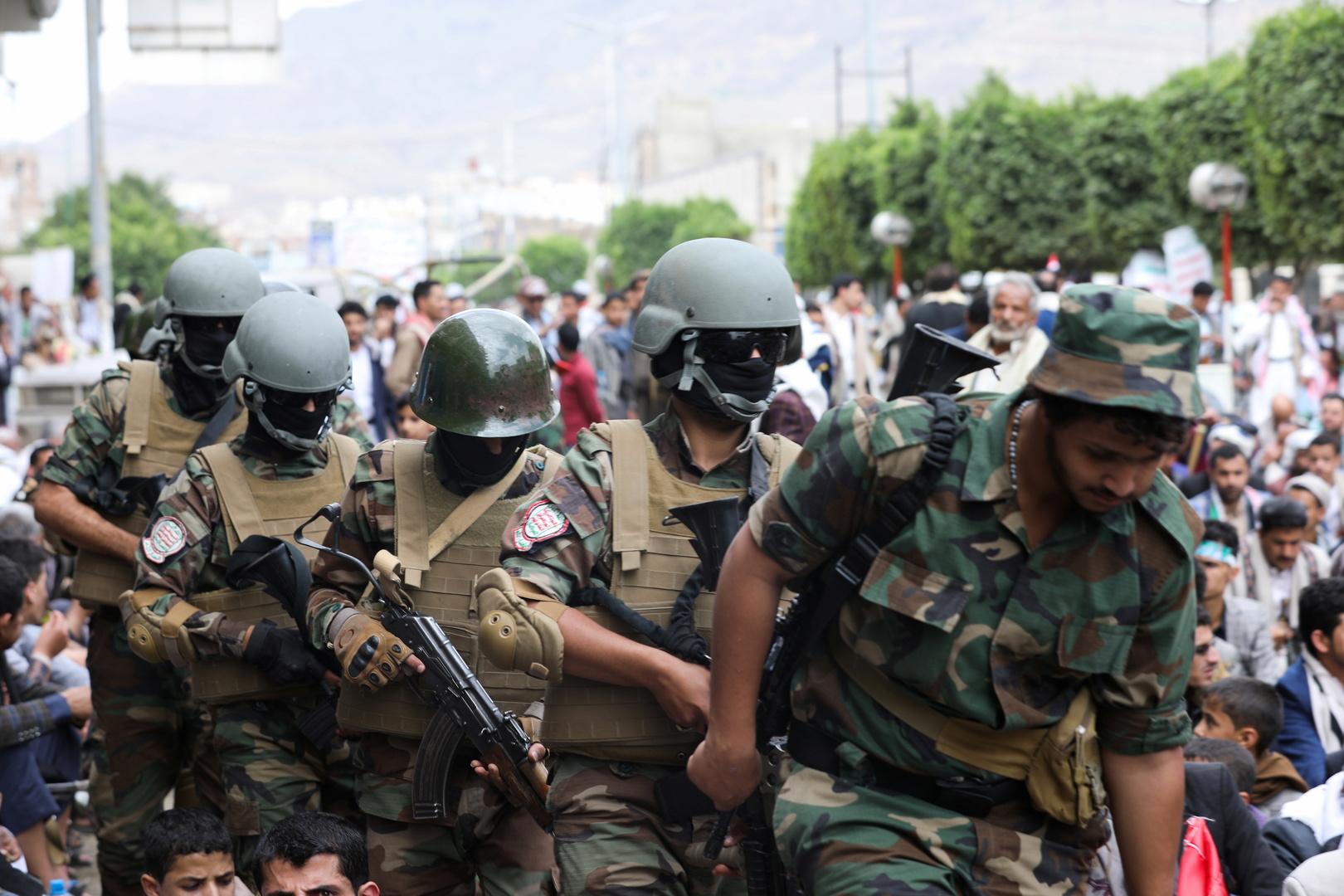 """عناصر من جماعة """"أنصار الله"""" الحوثية"""