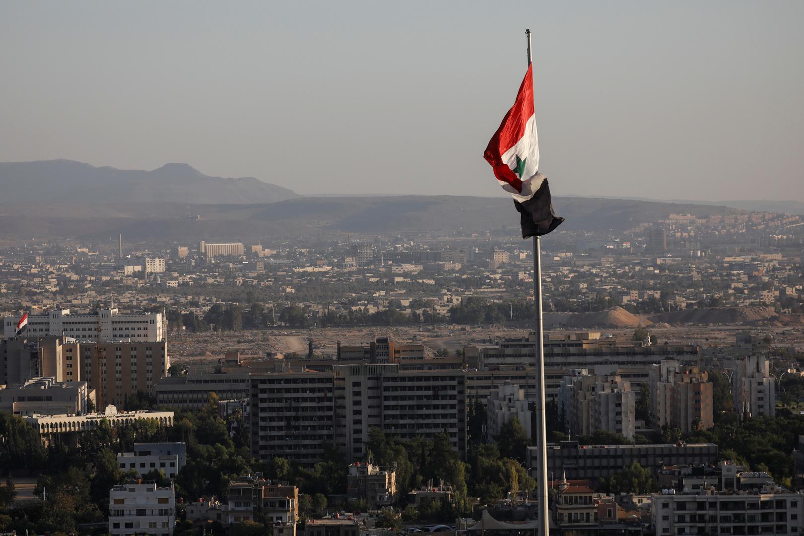صورة من الأرشيف - دمشق