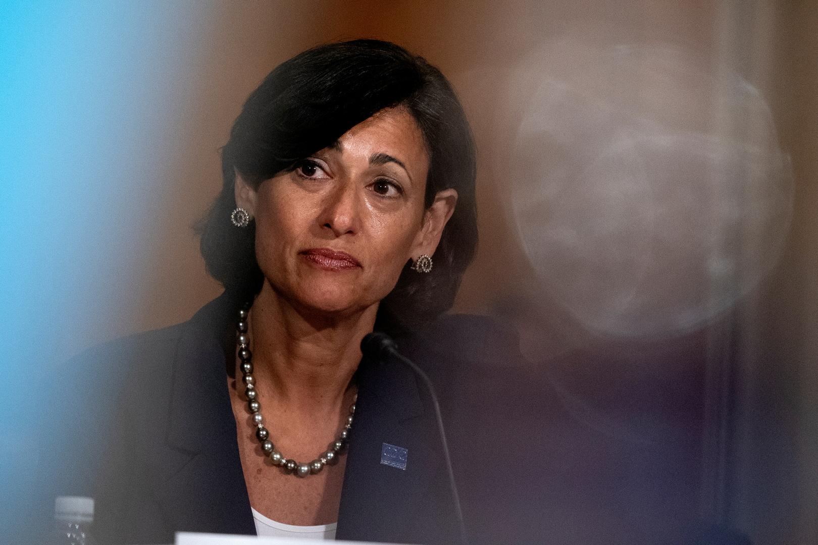 روشيل فالينسكي، رئيسة مركز السيطرة على الأمراض والوقاية منها في الولايات المتحدة