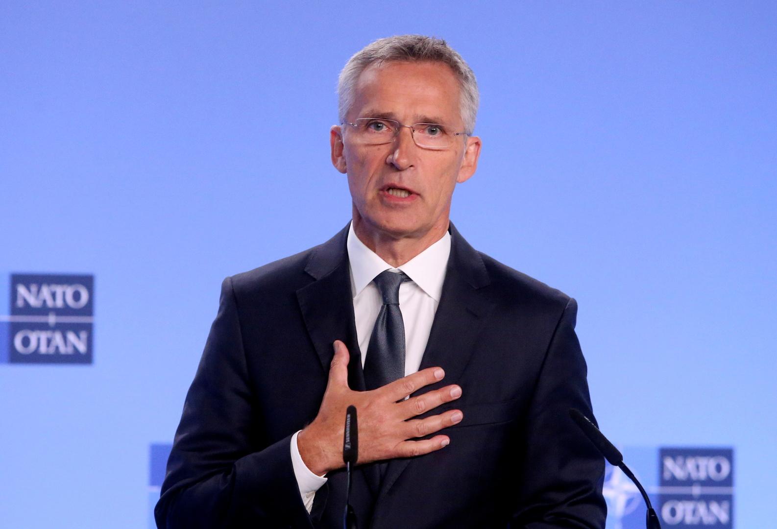 الأمين العام لحلف شمال الأطلسي ينس ستولتنبيرغ