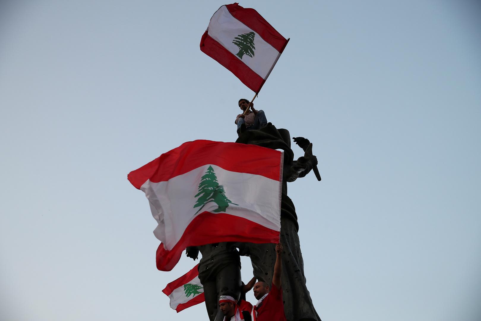 تمثال الشهداء في العاصمة اللبنانية بيروت