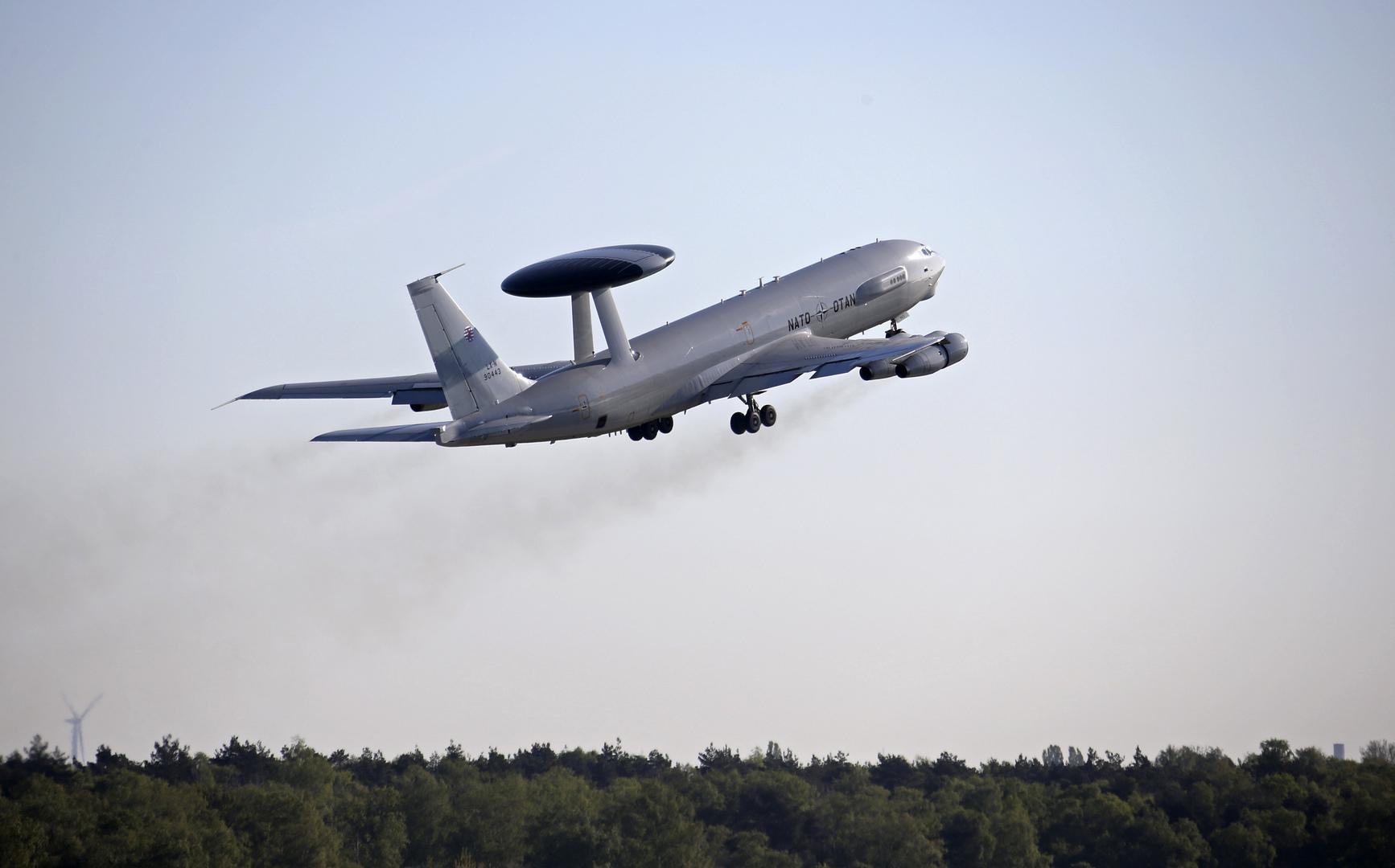 طائرة أيواكس تابعة لحلف الناتو، أرشيف