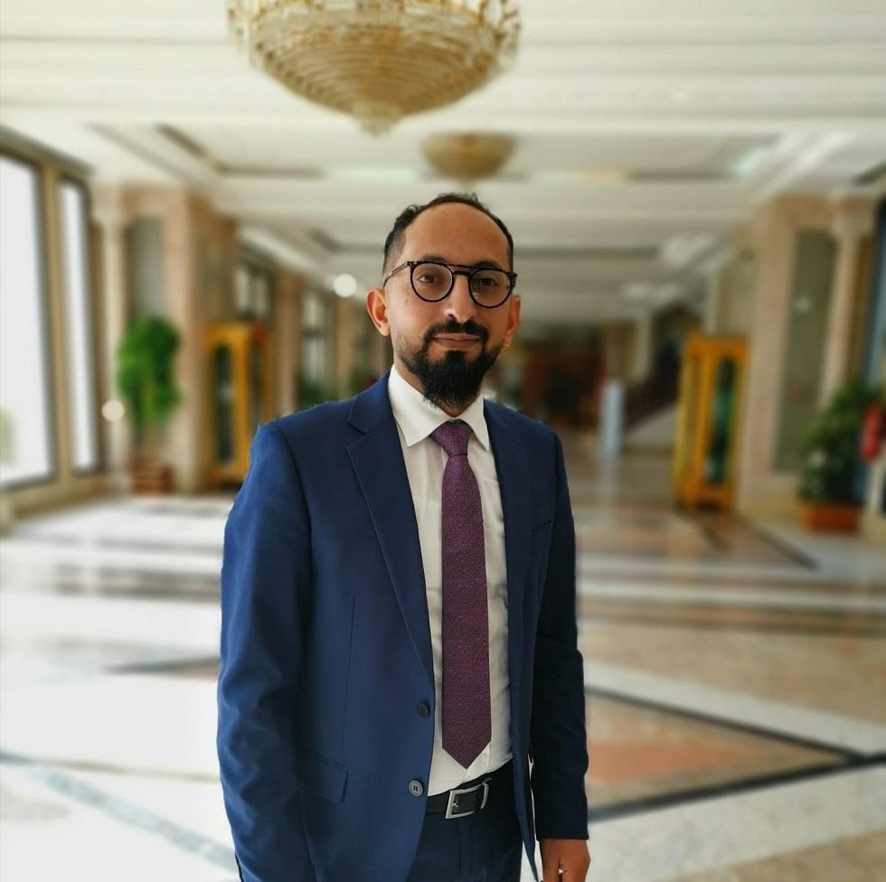 النائب التونسي عن حزب التيار الديمقراطي مجدي كرباعي