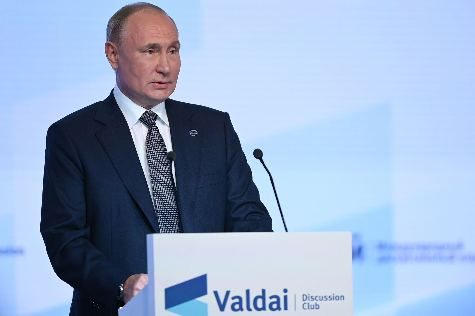 الريس الروسي، فلاديمير بوتين.