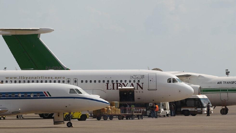 مطار مصراته الدولي في ليبيا - أرشيف