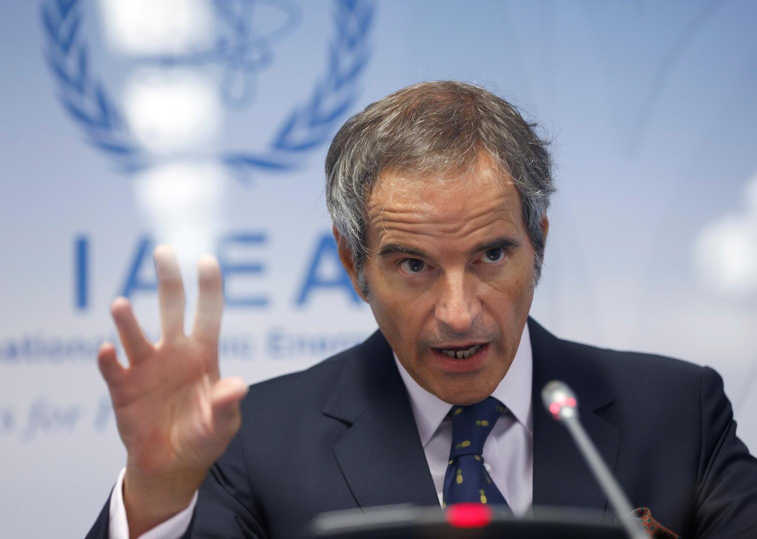 المدير العام للوكالة الدولية للطاقة الذرية رفائيل غروسي