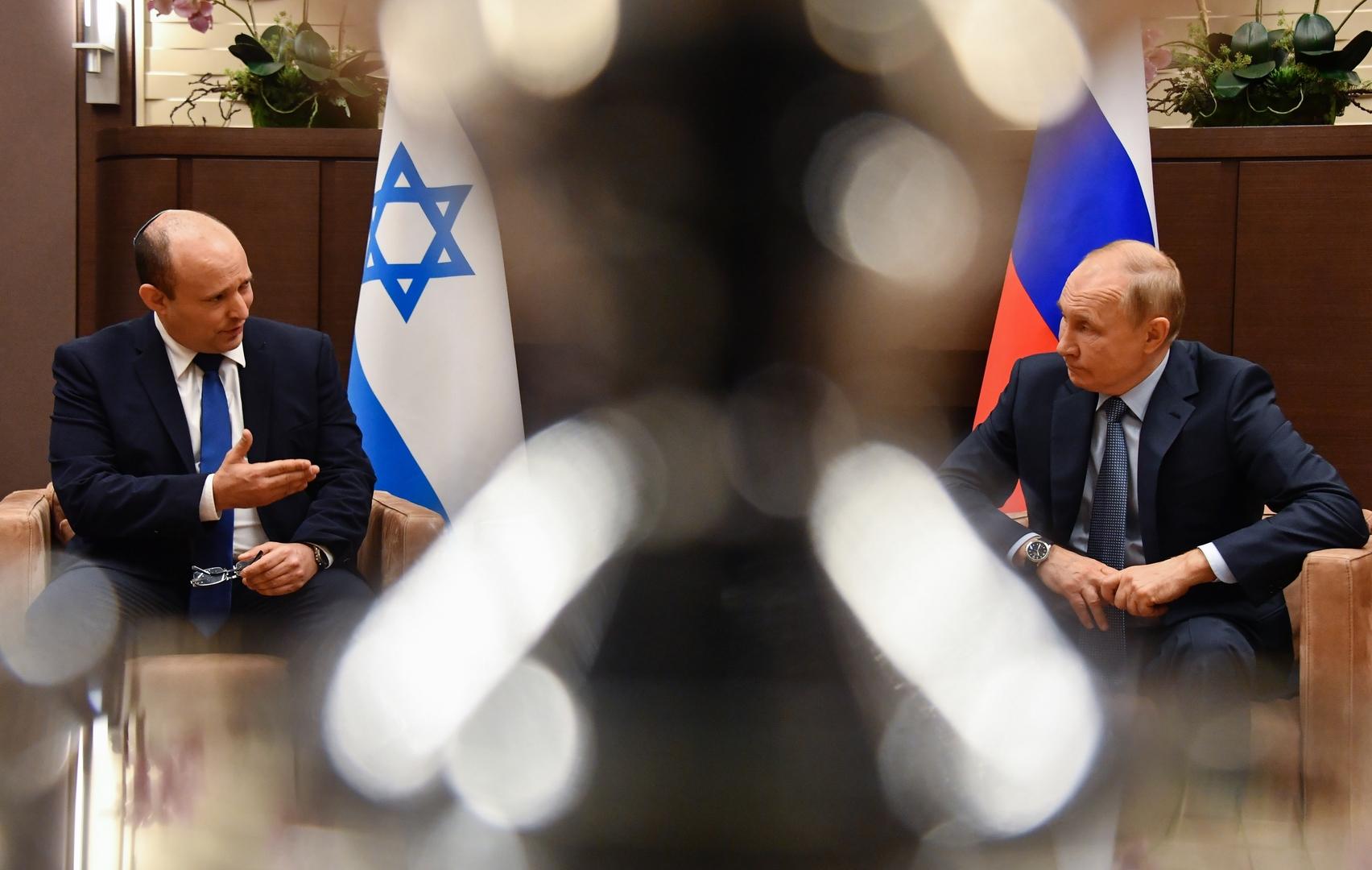 بوتين لبينيت: لدى روسيا وإسرائيل خلافات عديدة بشأن سوريا لكن هناك نقاط تماس أيضا
