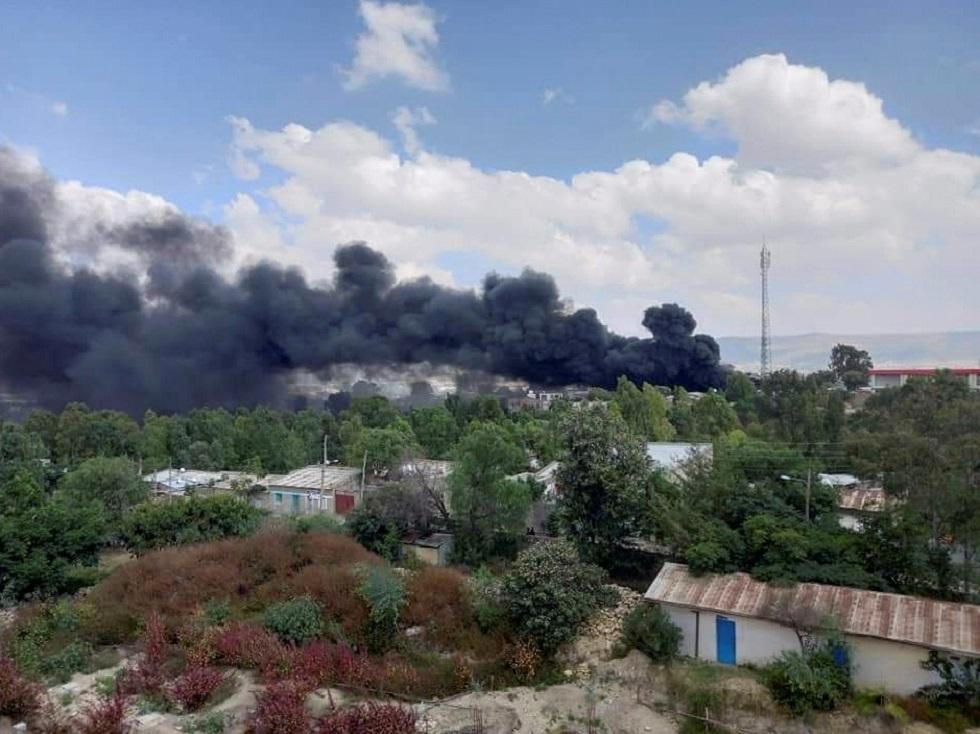 إصابة 11 مدنيا في ضربة جوية للجيش الإثيوبي على عاصمة تيغراي