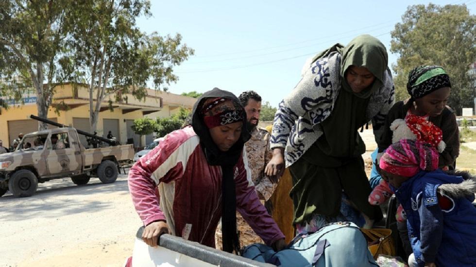 الأمم المتحدة تستأنف رحلات طيران من ليبيا لإجلاء مهاجرين - صورة من الأرشيف -
