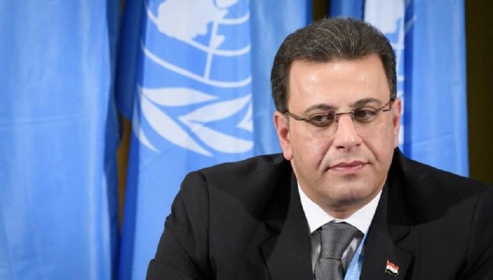 أحمد الكزبري رئيس وفد الحكومة السورية إلى اجتماعات لجنة مناقشة الدستور في جنيف
