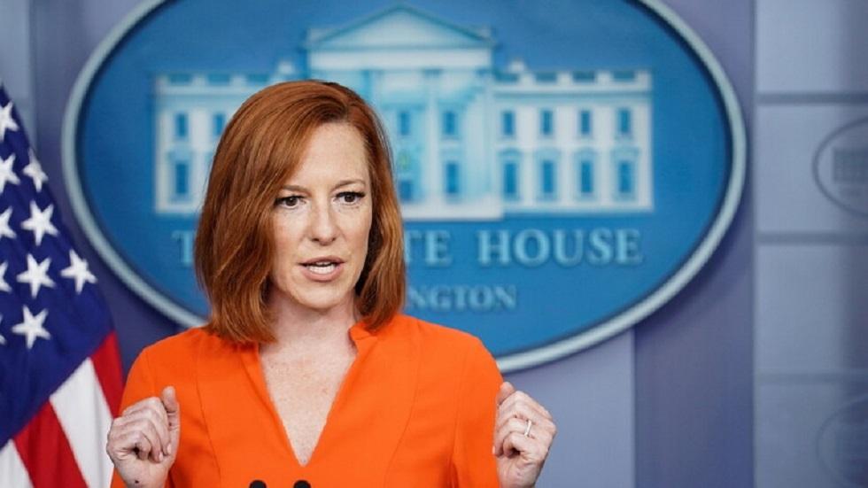 المتحدثة الصحفية باسم البيت الأبيض جين بساكي