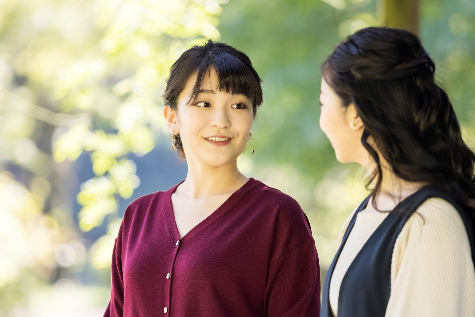الأميرة اليابانية ماكو