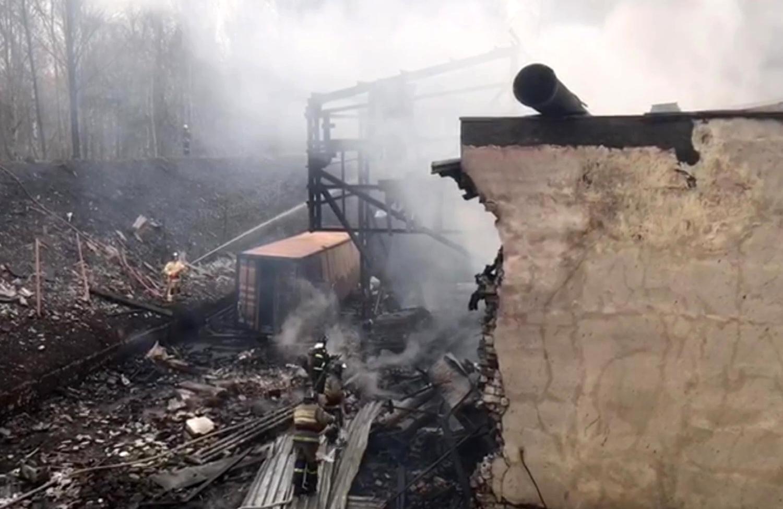 فيديو يوثق لحظة وقوع الانفجار المأساوي داخل مصنع في مقاطعة ريازان الروسية
