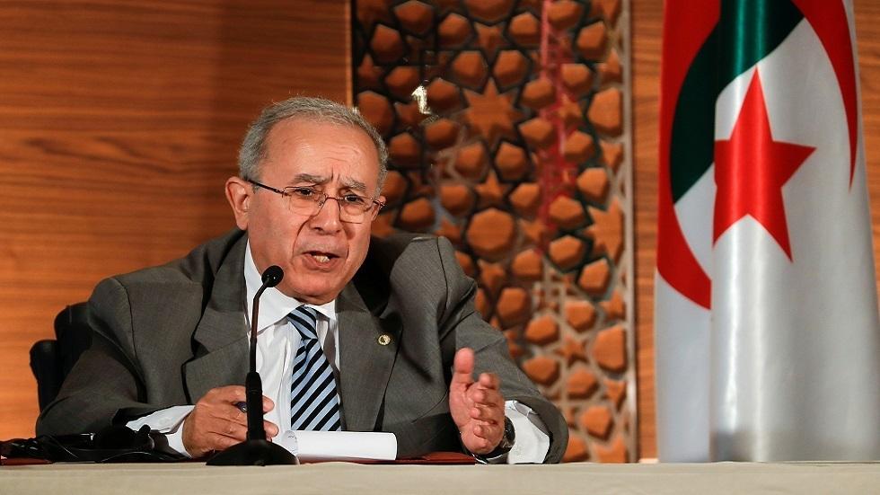 وزير الخارجية الجزائري رمطان لعمامرة - صورة من الأرشيف -