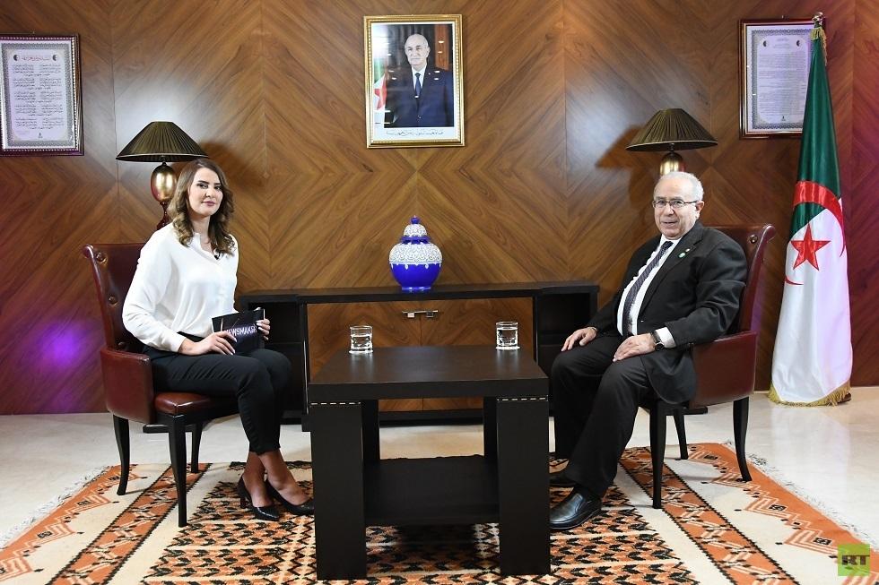 وزير الخارجية الجزائري رمطان لعمامرة