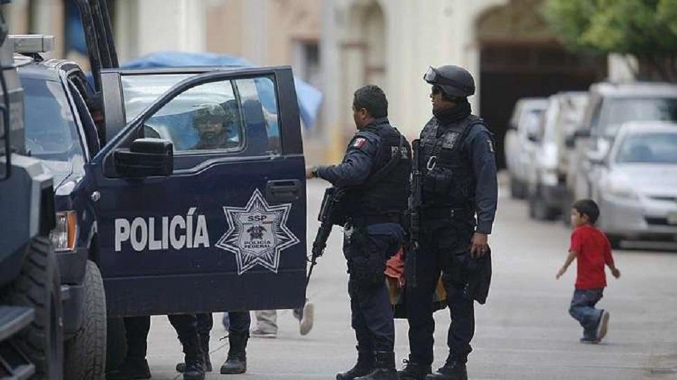 عناصر من الشرطة في المكسيك - أرشيف -