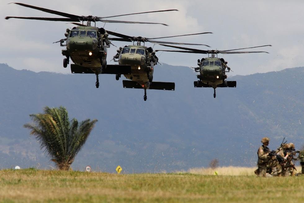 القوات الكولومبية