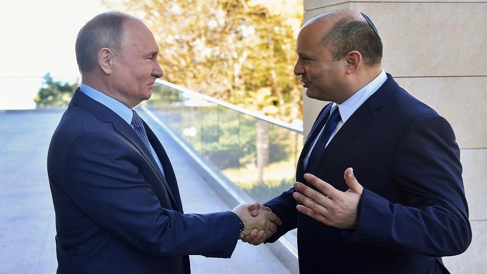 مكتب رئيس الوزراء الإسرائيلي: بوتين دعا بينيت لزيارة مدينة بطرسبورغ