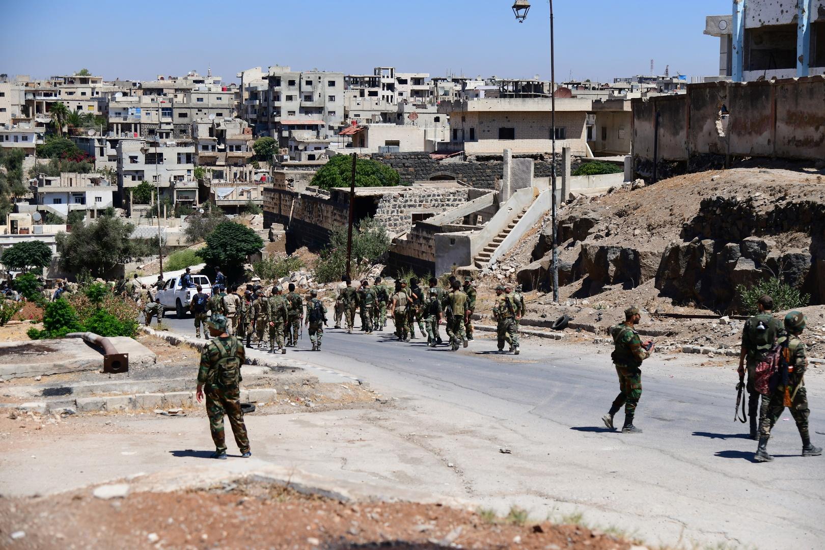 أرشيف، عناصر من الجيش السوري