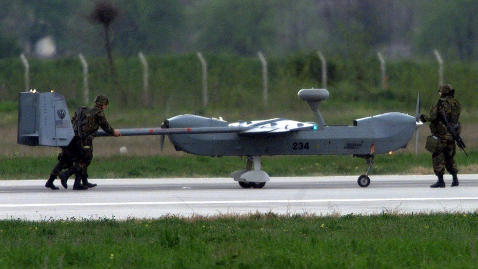 طائرة بدون طيار أمريكية -أرشيف-