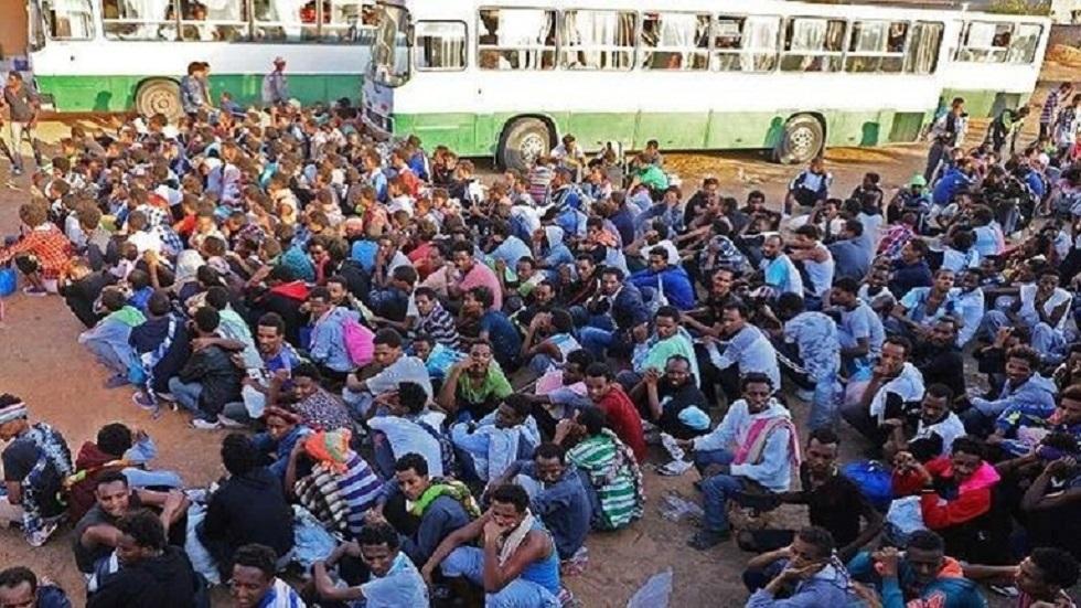 لاجئون في ليبيا - أرشيف