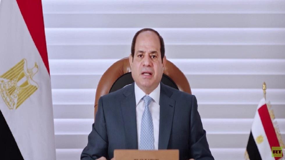السيسي: نتطلع لاتفاقية ملزمة بشأن سد النهضة