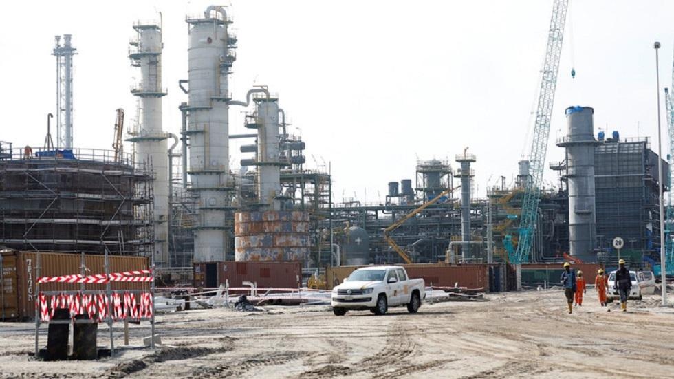 مصفاة لتكرير النفط في نيجيريا - أرشيف