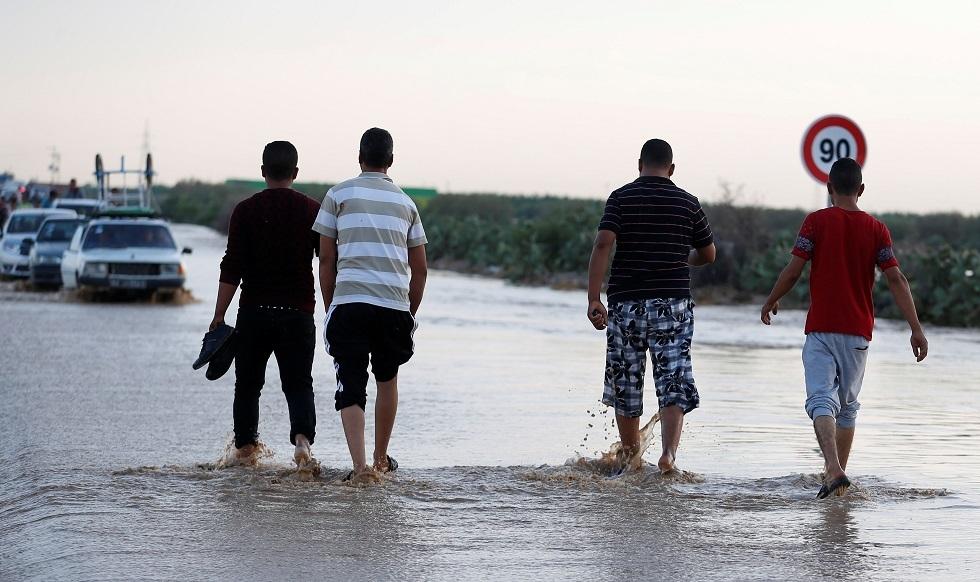 مصرح ثلاثة أشخاص في تونس جرفتهم السيول - صورة من الأرشيف -