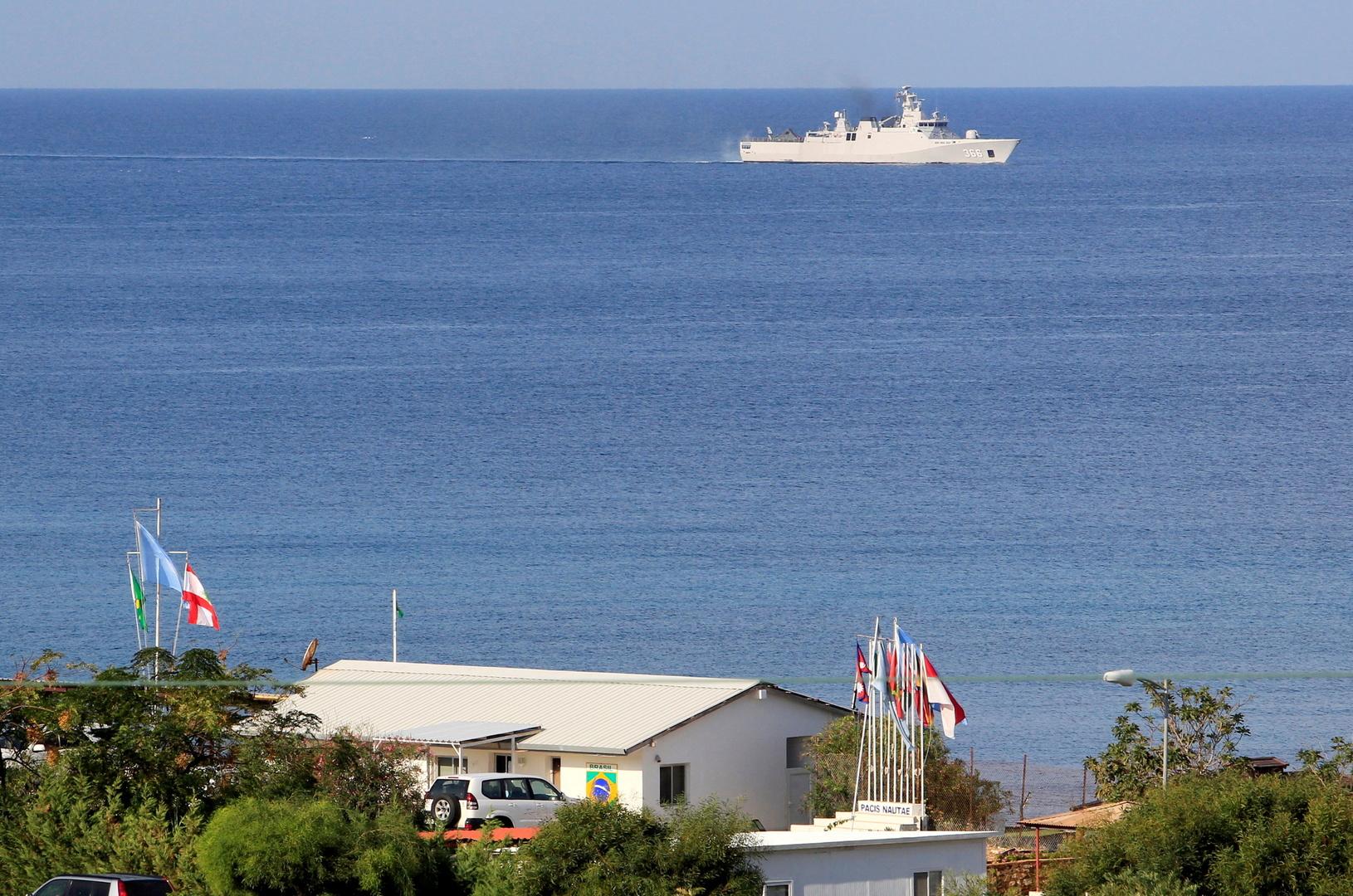 الحدود البحرية بين لبنان وإسرائيل