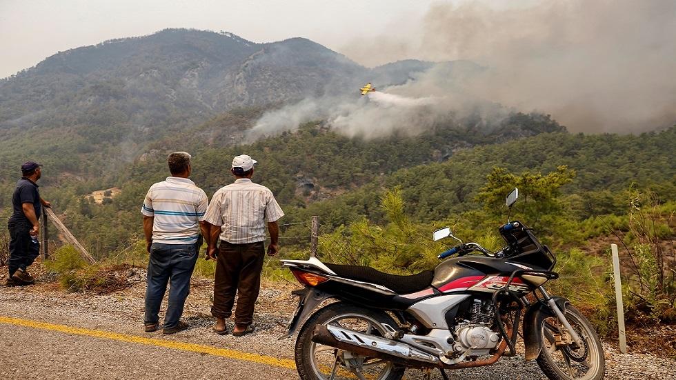 حريق غابات في تركيا (صورة من الأرشيف)