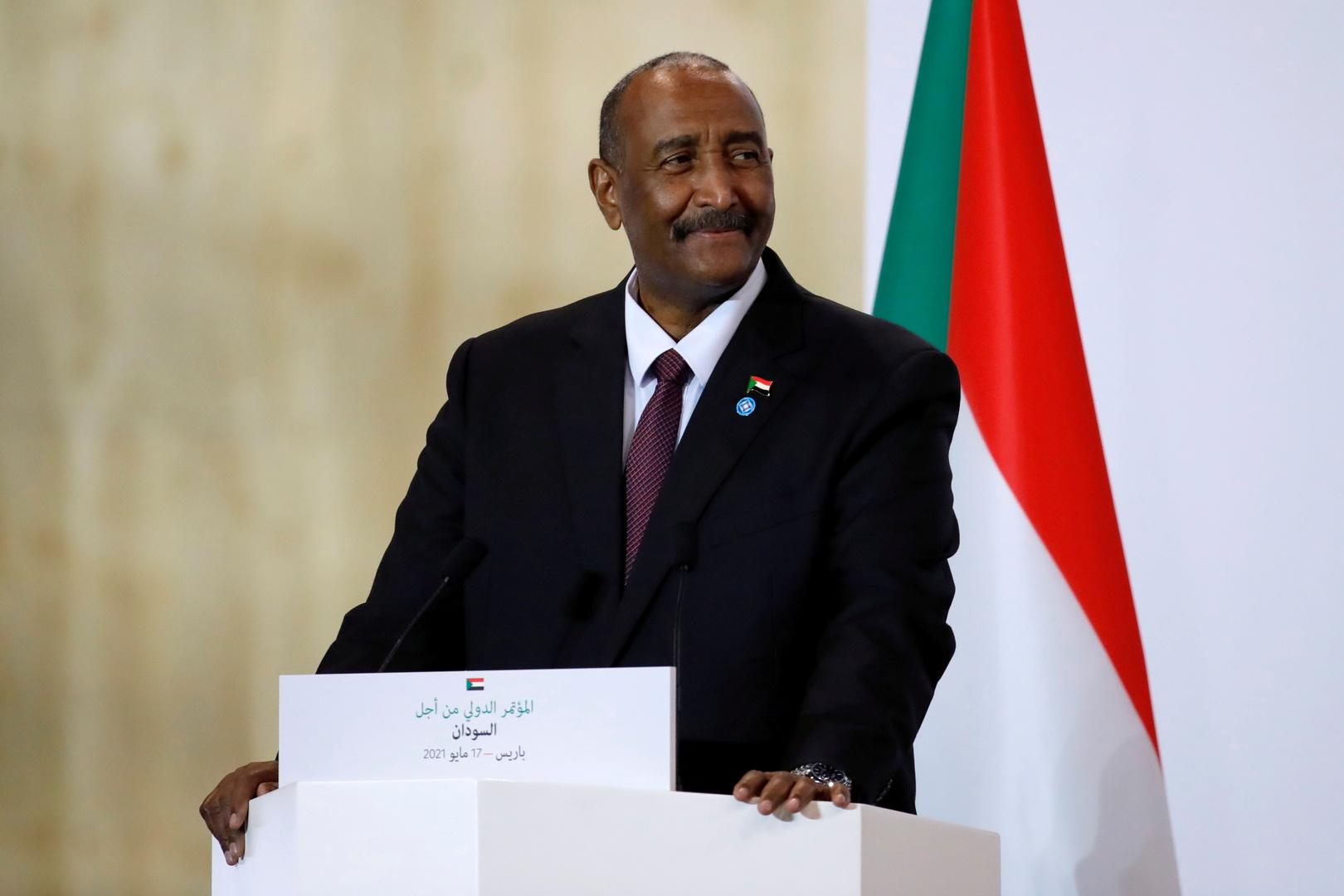 رئيس مجلس السيادة الانتقالي في السودان، عبد الفتاح البرهان