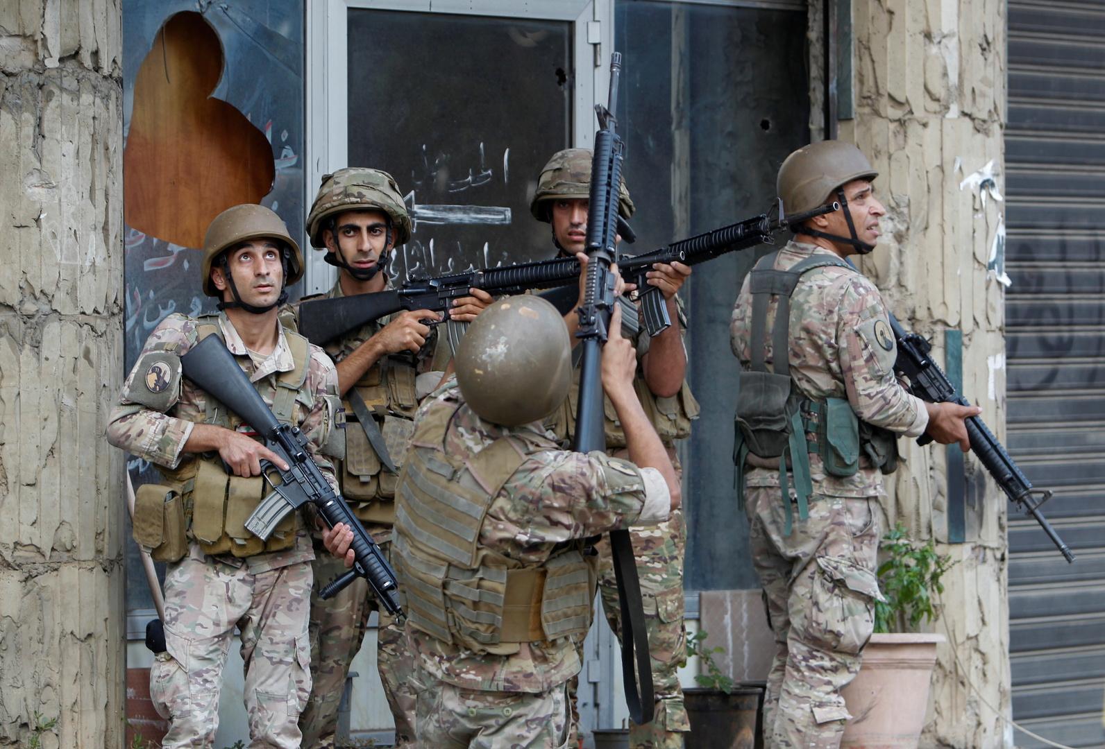 الجيش اللبناني يعلن انتهاء التحقيقات في ملف أحداث الطيونة