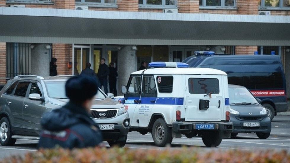 سيارات للشرطة الروسية - أرشيف