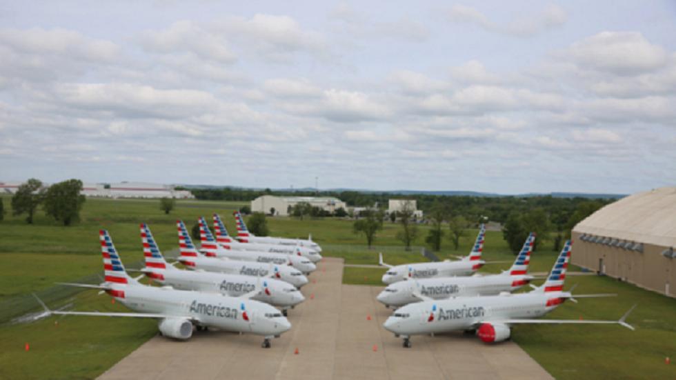 طائرات بوينغ الأمريكية - أرشيف
