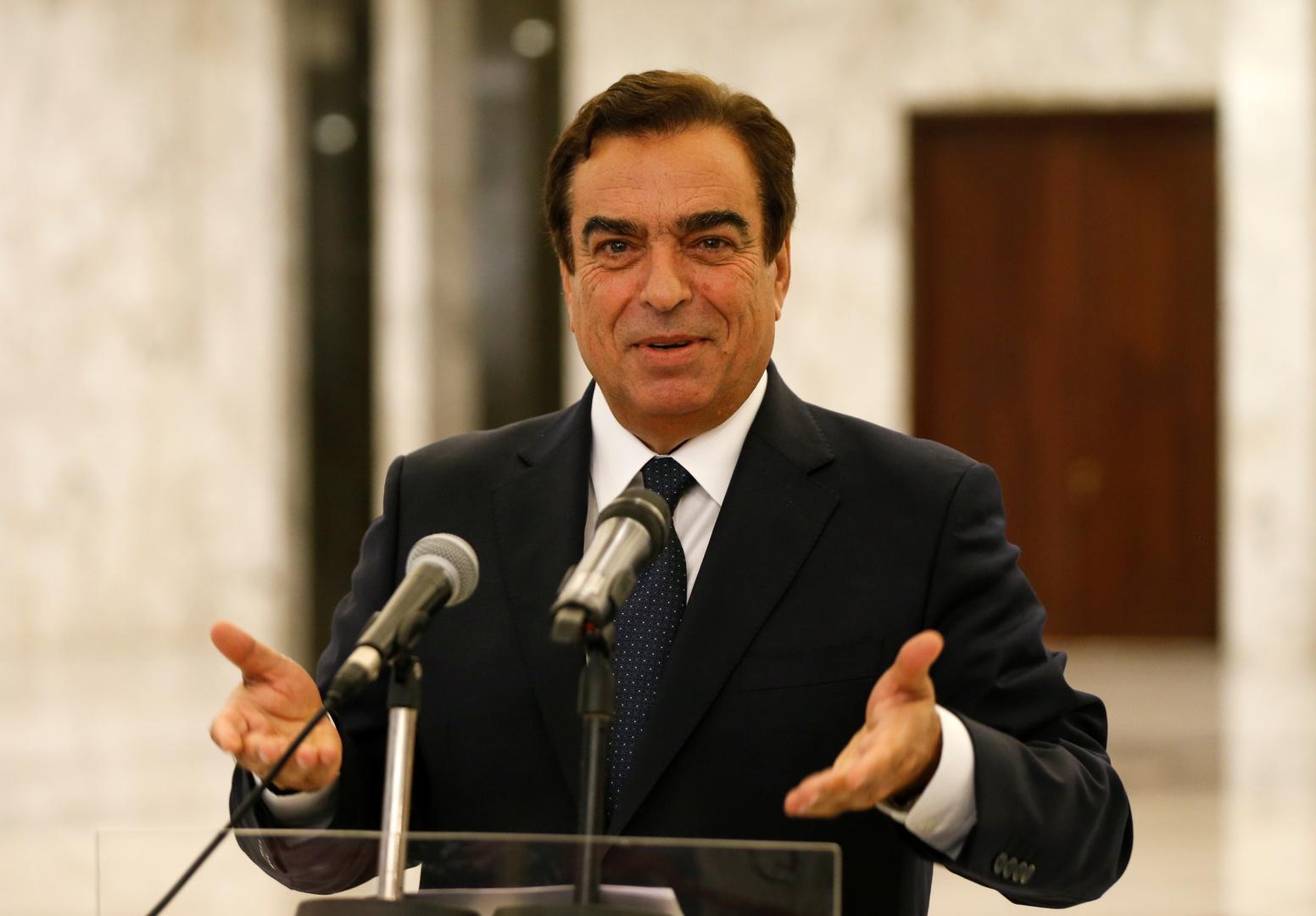 وزير الإعلام اللبناني جورج قرداحي