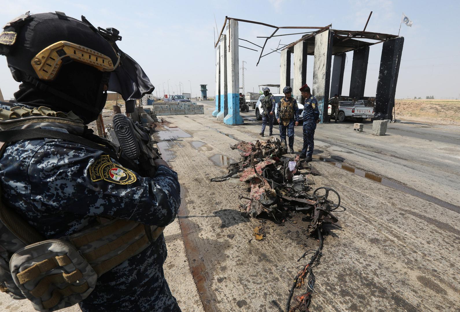 مراسلنا: هجوم على قوة أمنية عراقية في صلاح الدين