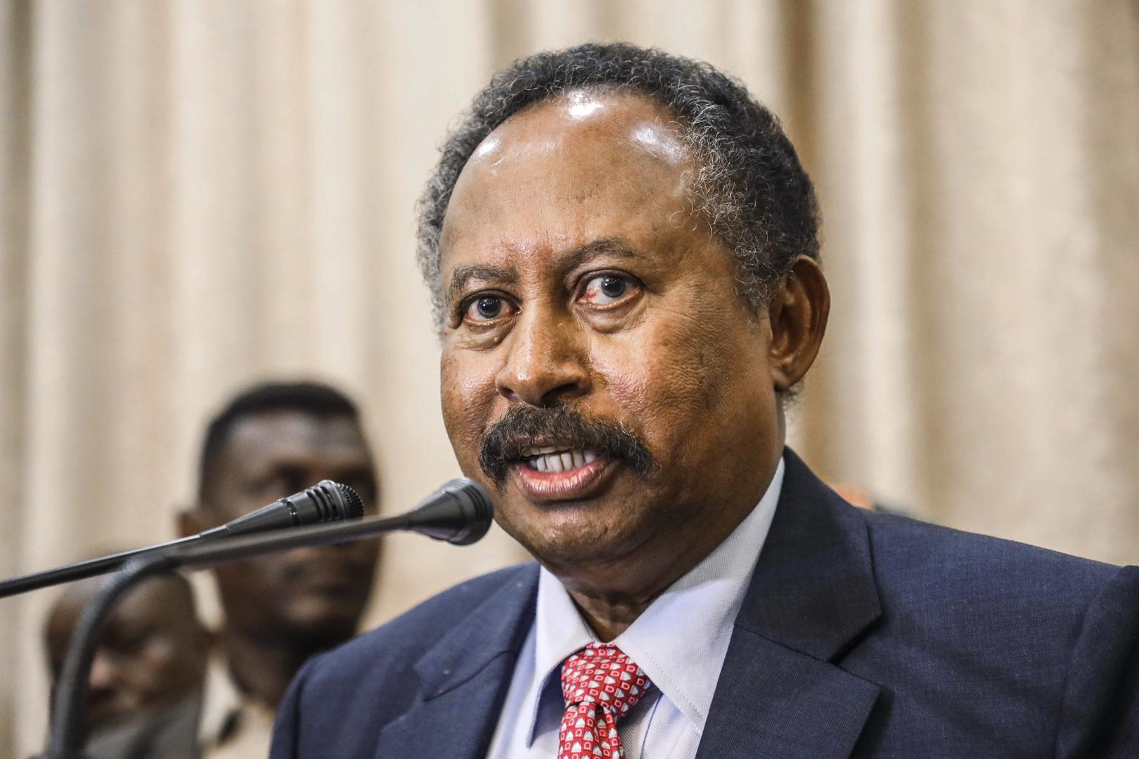 بيان أمريكي أوروبي: حمدوك رئيس حكومة السودان ونطلب لقاءه