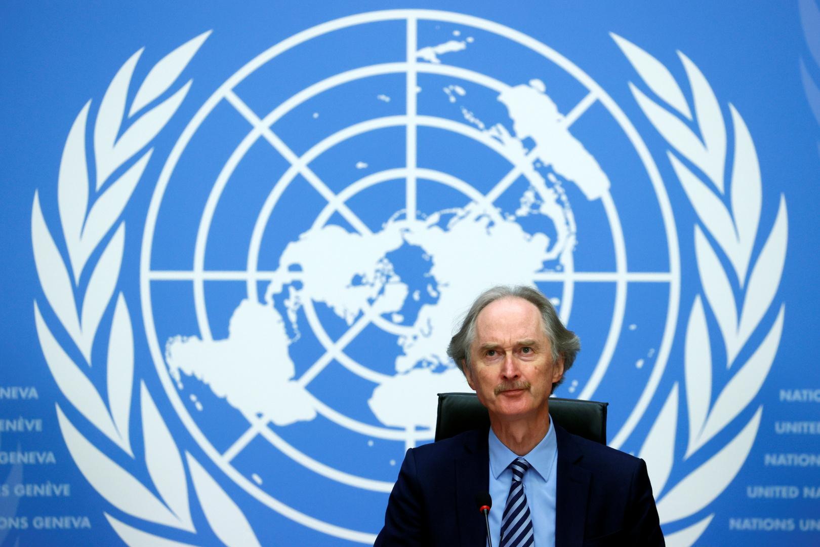 بيدرسن يحمل دمشق المسؤولية عن فشل المحادثات الدستورية