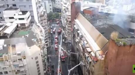 حريق مروّع في تايوان يودي بحياة 46 شخصا