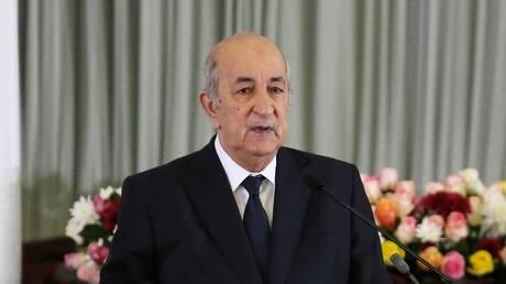 """الرئيس الجزائري يعزي عائلة عسكري توفي إثر """"اعتداء إرهابي على الحدود الغربية"""""""