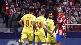 صلاح يتألق ويقود ليفربول للفوز على أتلتيكو مدريد